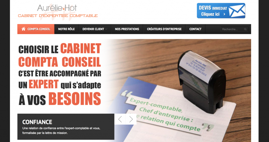 Compta Conseil Website