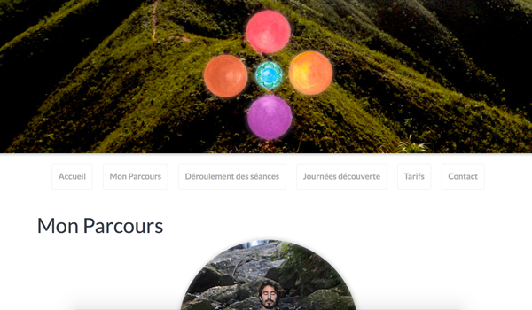 a website for yoga lesson in New Caledonia